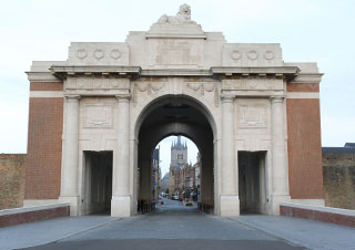 The Menin Gate Ieper (Ypres).